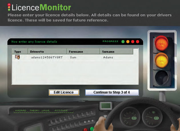 Gauntlet Licence Monitor