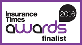 Gauntlet Insurance times awards finalist 2016